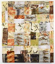 Eco Grid No.2 by Ayn Hanna (Fiber Wall Hanging)