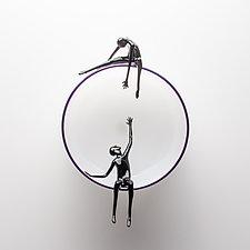 Ascent by Bryan Randa (Art Glass Wall Sculpture)