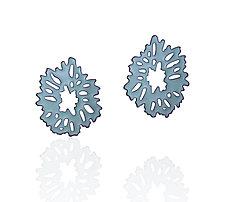 Geometric Flower Studs by Joanna Nealey (Enamel Earrings)
