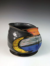 Altered Vessel by Thomas Harris (Ceramic Vessel)