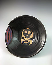 Pirates!  Salad Plate II by Thomas Harris (Ceramic Platter)