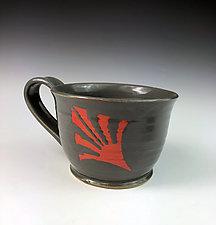Flleur Mug by Thomas Harris (Ceramic Mug)