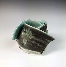 Small Luminaria by Thomas Harris (Ceramic Candleholder)