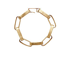 Paper Chain Bronze Link Bracelet by Julie Cohn (Bronze Bracelet)