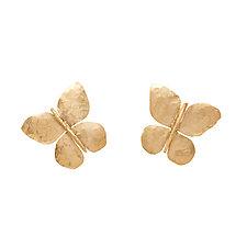 Butterfly Bronze Earrings by Julie Cohn (Bronze Earrings)