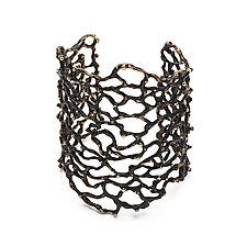 Bronze Sea Flora Cuff Bracelet by Julie Cohn (Bronze Bracelet)