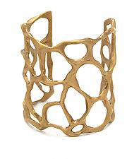 Bronze Fan Coral Cuff Bracelet by Julie Cohn (Bronze Bracelet)