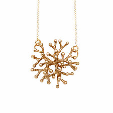 Stamen Bronze Pendant by Julie Cohn (Bronze Necklace)