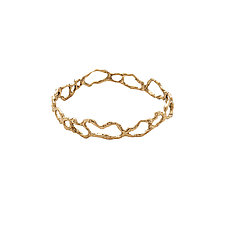 Seagrass Bronze Bangle by Julie Cohn (Bronze Bracelet)