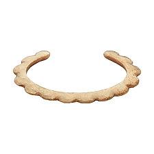 Scallop Bronze Cuff Bracelet by Julie Cohn (Bronze Bracelet)