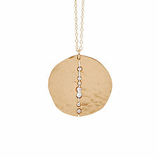 Orbit Bronze Pendant by Julie Cohn (Bronze Necklace)