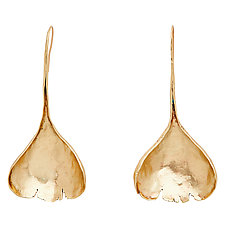 Allium Bronze Earrings by Julie Cohn (Bronze Earrings)