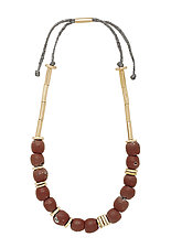 Clay Mari Necklace by Julie Cohn (Beaded Necklace)
