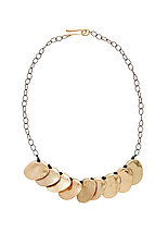 Talisman Collar Necklace by Julie Cohn (Silver & Bronze Necklace)