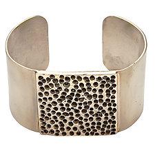 Totem Bronze Cuff Bracelet by Julie Cohn (Bronze Bracelet)