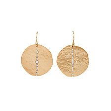 Orbit Bronze Earrings by Julie Cohn (Bronze & Stone Earrings)
