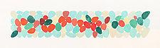 Celebrating Cadmium Scarlet by Nancy Simonds (Watercolor Painting)