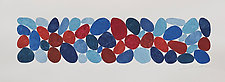 Reds and Blues by Nancy Simonds (Watercolor Painting)