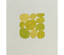 Yellows III by Nancy Simonds (Watercolor Painting)