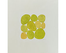 Yellows II by Nancy Simonds (Watercolor Painting)