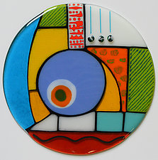 Growth, Awareness by Mary Johannessen (Art Glass Wall Sculpture)