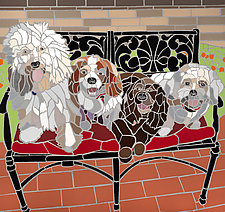 Family Portrait by Jonathan I. Mandell (Giclee Print)