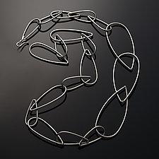 Modular Necklace No. 5 by Megan Auman (Silver Necklace)