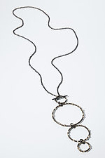 DeFeo Necklace by Megan Auman (Silver & Steel Necklace)