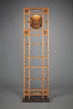 Skeleton Tall Clock by Robert Krantz (Wood Clock)