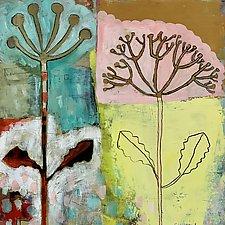 Botanical Buddies by Barbara Gilhooly (Oil Painting)
