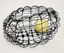 Cloud Wire Basket by Barbara Gilhooly (Metal Basket)