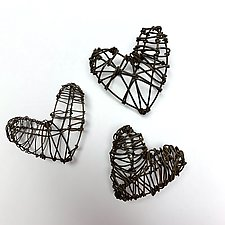 Hold Your Heart by Barbara Gilhooly (Metal Wall Sculpture)