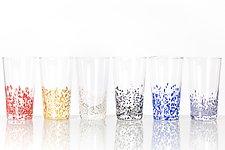 Large Star Tumblers by Aaron Baigelman (Art Glass Drinkware)