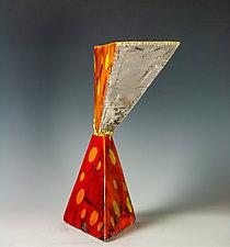Through It All, Beauty by Frank Nemick (Ceramic Sculpture)