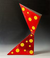 Lifting Away by Frank Nemick (Ceramic Sculpture)