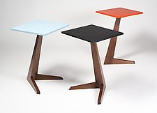 Bipeds by Eben Blaney (Wood Side Table)