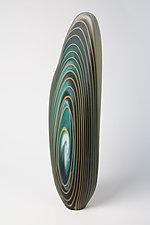Blue Mahoe Driftwood Sculptures by Treg  Silkwood (Art Glass Sculpture)