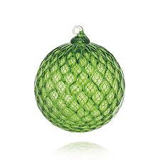 Emerald Gem by Leonoff Art Glass  (Art Glass Ornament)