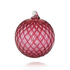 Ruby Gem by Leonoff Art Glass  (Art Glass Ornament)