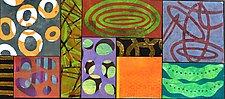Between The Garden, Pods by Emilia Van Nest Markovich (Mixed-Media Drawing)