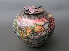Koi Pond by Kate & Will  Jacobson (Ceramic Vessel)