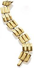 Line Bracelet by Nora Fischer (Gold & Silver Bracelet)
