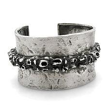 Oceanic Cuff Bracelet by Lauren Passenti (Silver Bracelet)