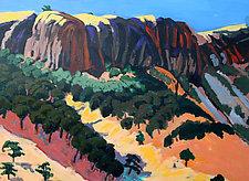 Dark Hills by Bruce Klein (Acrylic Painting)