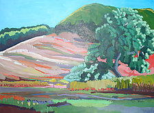 Rolling Hills by Bruce Klein (Acrylic Painting)