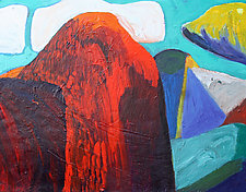 Hartley's Half Dome by Bruce Klein (Acrylic Painting)