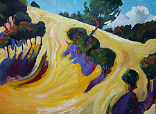 Sweeping Hill by Bruce Klein (Acrylic Painting)