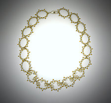 Your Highness Necklace by Bethany Montana (Gold, Silver & Stone Necklace)
