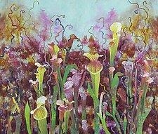 Bizarre Garden by Olena Nebuchadnezzar (Fiber Wall Hanging)