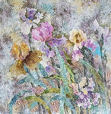 Cloudy With a Chance of Sunshine II by Olena Nebuchadnezzar (Fiber Wall Hanging)